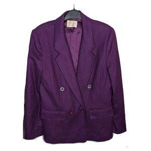 Pendleton | Virgin Wool Double Breasted Blazer